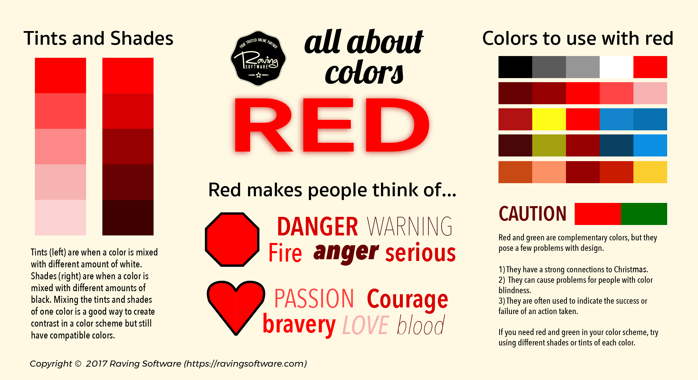 How to include red in your color scheme