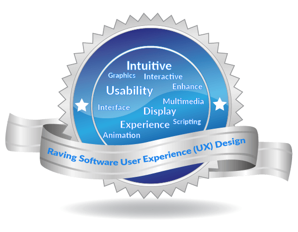 Raving Software User Experience (UX) Design